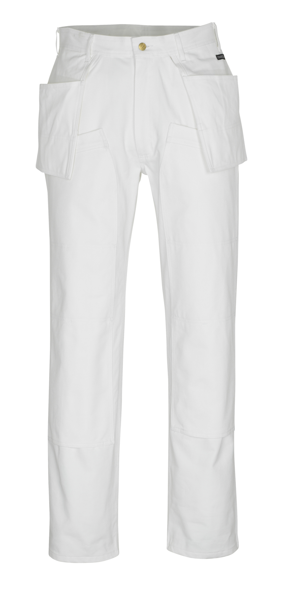 00538-630-06 Trousers with kneepad pockets and holster pockets - white