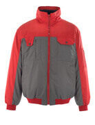 00922-620-88802 Pilot Jacket - anthracite/red