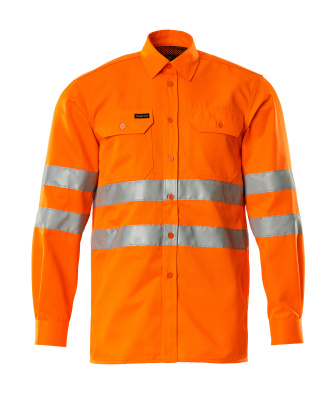 06004-136-14 Shirt - hi-vis orange