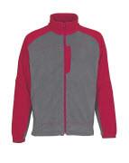 06042-137-88802 Fleece Jacket - anthracite/red