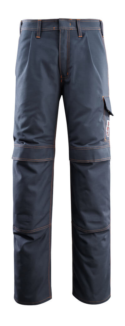 06679-135-010 Trousers with kneepad pockets - dark navy