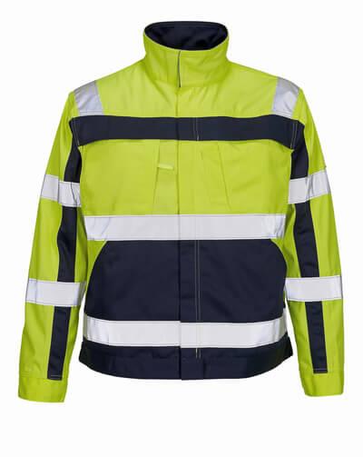 07109-470-171 Jacket - hi-vis yellow/navy