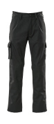 07479-330-09 Trousers with kneepad pockets - black