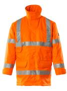 07930-880-14 Parka Jacket - hi-vis orange
