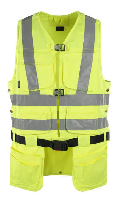 08089-470-17 Tool Vest - hi-vis yellow
