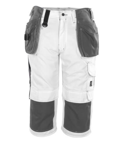 08349-154-06 ¾ Length Trousers with kneepad pockets and holster pockets - white