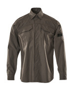 09004-142-18 Shirt - dark anthracite