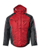 12035-211-0209 Winter Jacket - red/black