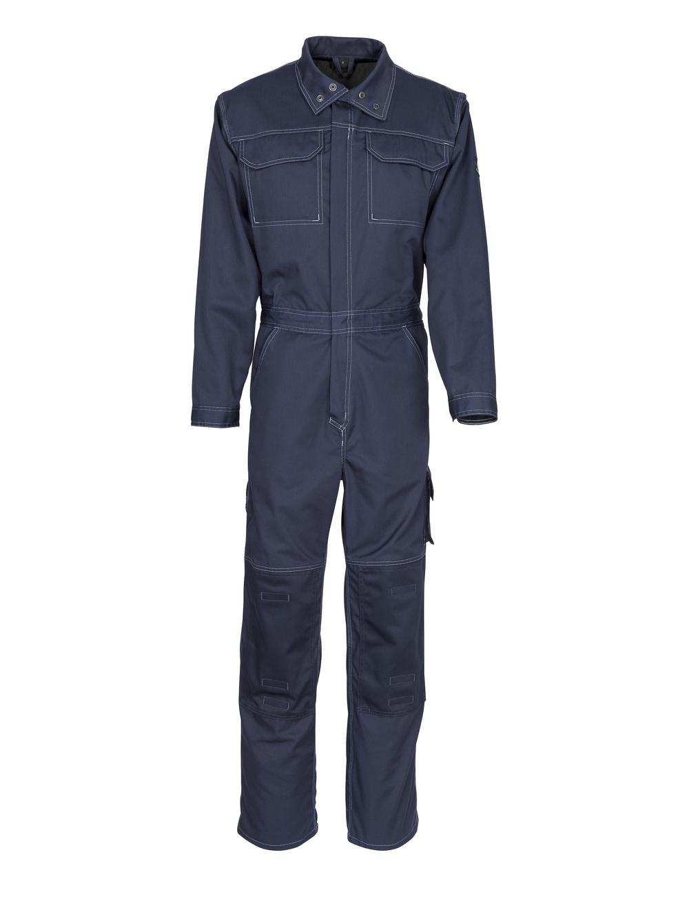 12311-630-010 Boilersuit with kneepad pockets - dark navy