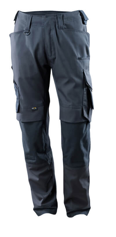 15079-010-010 Trousers with kneepad pockets - dark navy