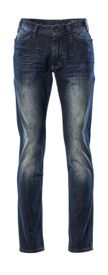 15379-869-76 Jeans - washed blue denim