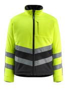 15503-259-1709 Fleece Jacket - hi-vis yellow/black