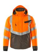 15535-231-1418 Winter Jacket - hi-vis orange/dark anthracite
