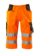 15549-860-1418 Shorts, long - hi-vis orange/dark anthracite