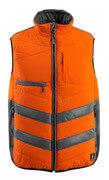 15565-249-1418 Winter Gilet - hi-vis orange/dark anthracite