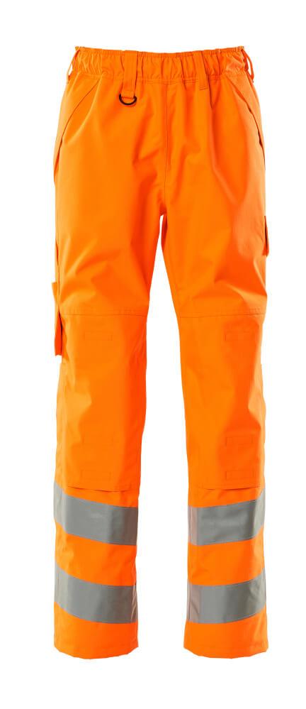15590-231-14 Over Trousers with kneepad pockets - hi-vis orange