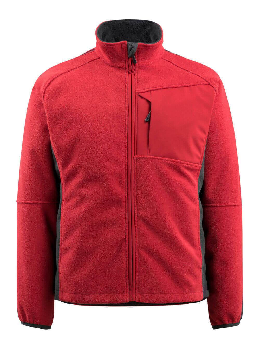 15603-259-0209 Fleece Jacket - red/black