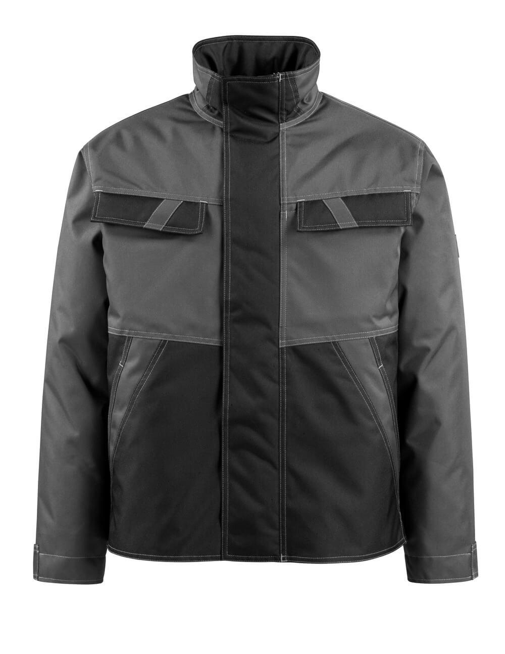 15735-126-1809 Winter Jacket - dark anthracite/black