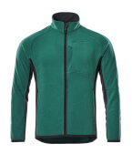 16003-302-0309 Fleece Jacket - green/black