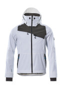 17001-411-0618 Outer Shell Jacket - white/dark anthracite