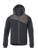 17001-411-0918 Outer Shell Jacket - black/dark anthracite