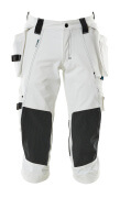 17049-311-06 ¾ Length Trousers with kneepad pockets and holster pockets - white