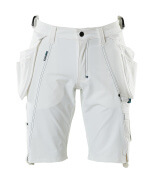 17149-311-06 Shorts with holster pockets - white