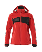 18011-249-20209 Outer Shell Jacket - traffic red/black