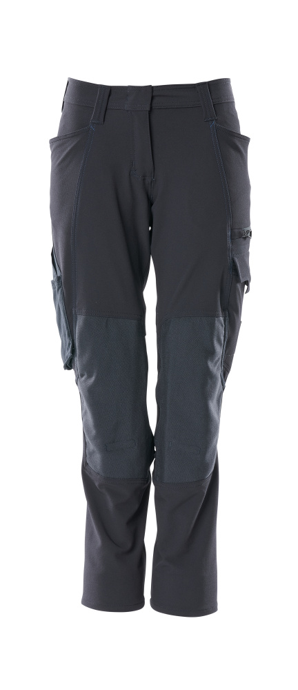 18078-511-010 Trousers with kneepad pockets - dark navy
