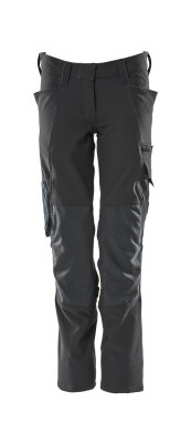 18088-511-010 Trousers with kneepad pockets - dark navy