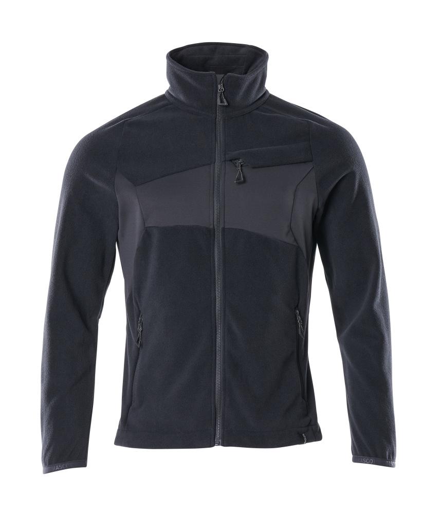18303-137-010 Fleece Jacket - dark navy
