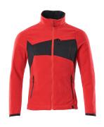 18303-137-20209 Fleece Jacket - traffic red/black