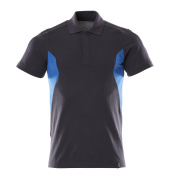18383-961-01091 Polo shirt - dark navy/azure blue