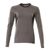 18391-959-1809 T-shirt, long-sleeved - dark anthracite/black