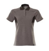 18393-961-1809 Polo shirt - dark anthracite/black