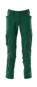 18479-311-03 Trousers with kneepad pockets - green