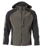 18601-411-1809 Outer Shell Jacket - dark anthracite/black