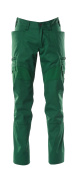 18679-442-03 Trousers with thigh pockets - green