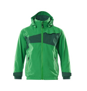 18901-249-33303 Softshell Jacket for children - grass green/green