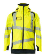 19001-449-14010 Outer Shell Jacket - hi-vis orange/dark navy