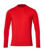 20181-959-202 T-shirt, long-sleeved - traffic red