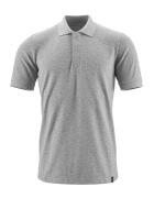 20183-961-08 Polo shirt - grey-flecked