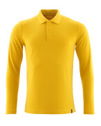 20483-961-70 Polo Shirt, long-sleeved - Curry Gold