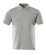 20583-797-08 Polo shirt - grey-flecked