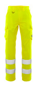 20859-236-14 Trousers with thigh pockets - hi-vis orange