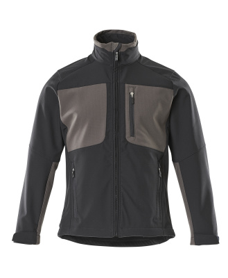 50057-824-0918 Softshell Jacket - black/dark anthracite