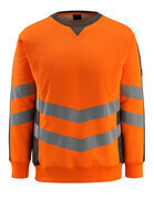50126-932-1418 Sweatshirt - hi-vis orange/dark anthracite