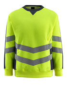 50126-932-17010 Sweatshirt - hi-vis yellow/dark navy