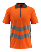 50130-933-1418 Polo Shirt - hi-vis orange/dark anthracite
