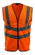50145-977-14 Traffic Vest - hi-vis orange